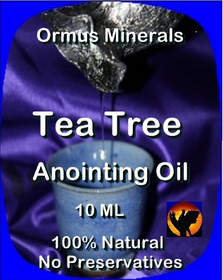 Ormus Minerals Anointing Oil with Tea Tree