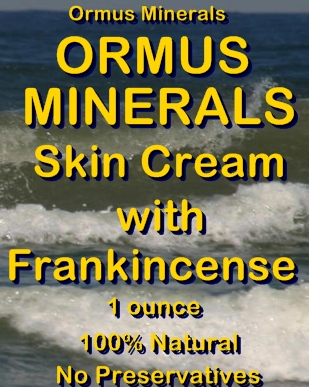 Ormus Minerals -Ormus Mineral Skin Cream with FRANKINCENSE